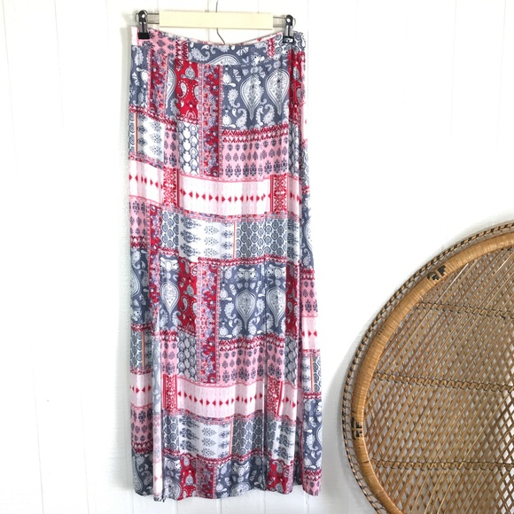 719b4f67400702 Cotton On Dresses & Skirts - Cotton On Patchwork Maxi Skirt